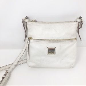 Dooney & Bourke Ivory Pebble Grain Crossbody